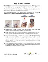 Compass 1 – Skills 10a Using a Compass